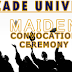 Elizade University, 2017 Maiden Convocation Ceremony Schedule