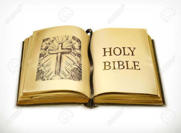 Open Bible Bible Vector Illustration