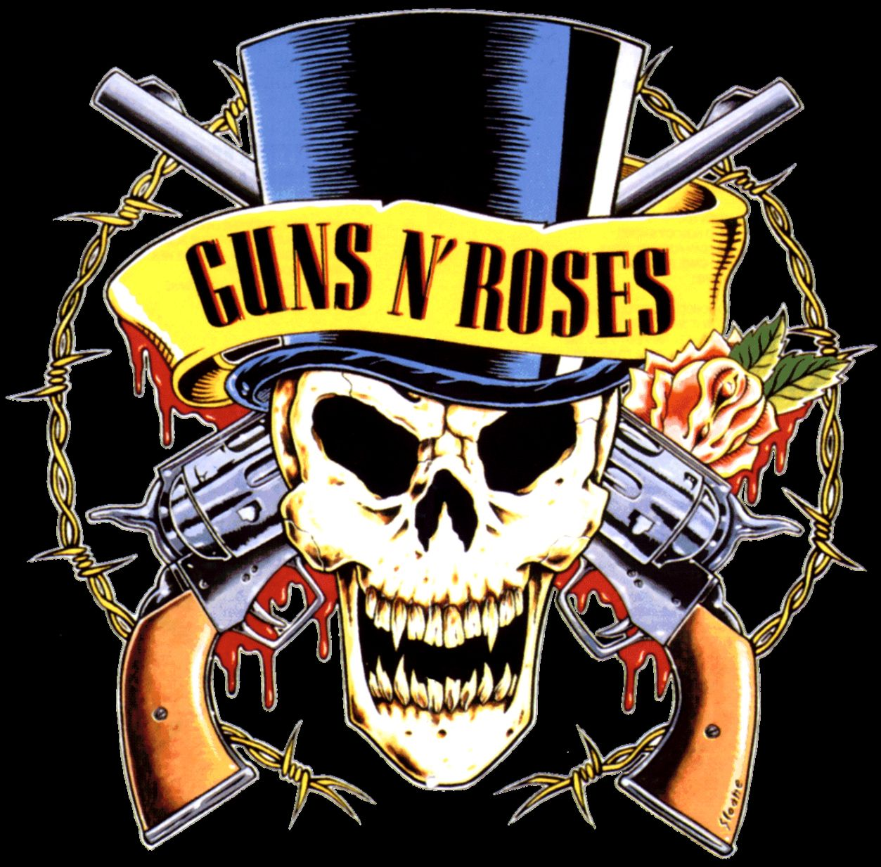 Logo Of Guns N Roses Wallpapers Lock Screen