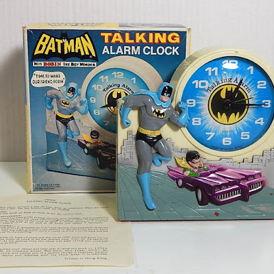 Batman talking alarm clock