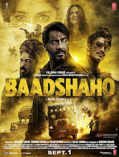 Baadshaho (2017) Hindi Movie 200Mb hevc DVDRip