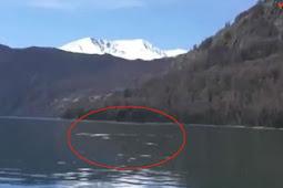 Rekaman Menakutkan, Makhluk Misterius Bersembunyi di Danau