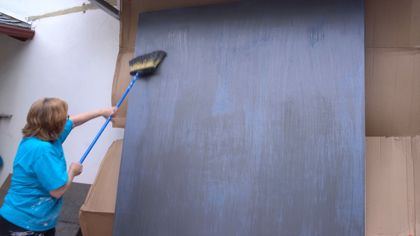 Покраска фона для портрета в низком ключе