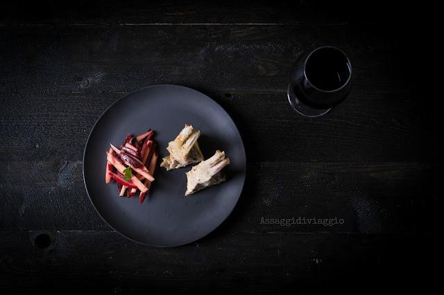 Agnello al forno e insalata di mele e barbabietole di Yotam Ottolenghi