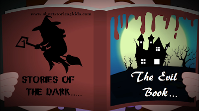 The Evil Book short story with pictures and pdf