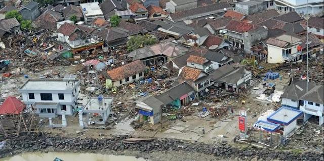Viral Kisah Gadis Korban Tsunami Selat Sunda, Selamat Tertahan di Karang Tengah Laut Tanjung Lesung