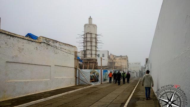 Mezquita de Asilah, en obras