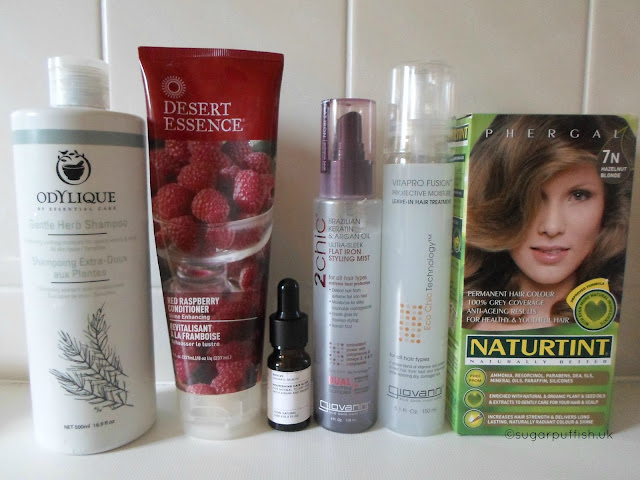 Updated Natural and Organic Haircare Routine 2016