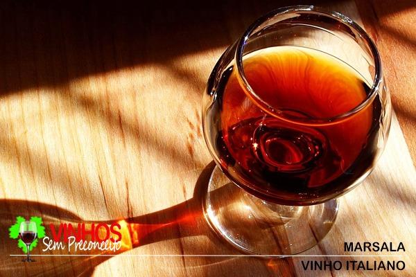 Vinho Italiano Marsala