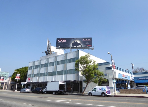 Okja film billboard