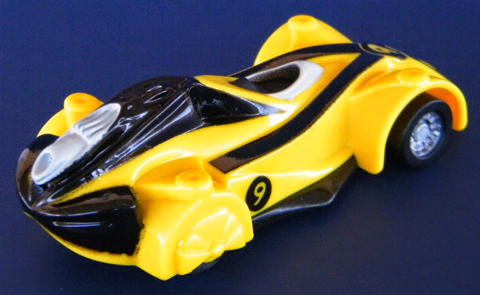 Toys and Stuff: McDonald's 2008 'Speed Racer' Movie Cars - No. 2 Racer X's Race Car