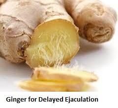 Ginger for Delayed Ejaculation