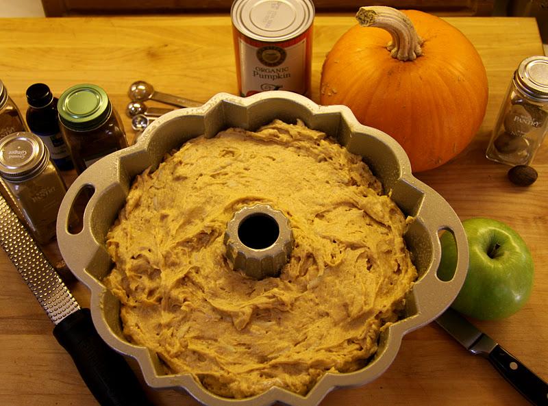 Salvation Sisters Pumpkins For Pilgrims And Pumpkin Apple Spice Cake With Dulce De Leche Glaze