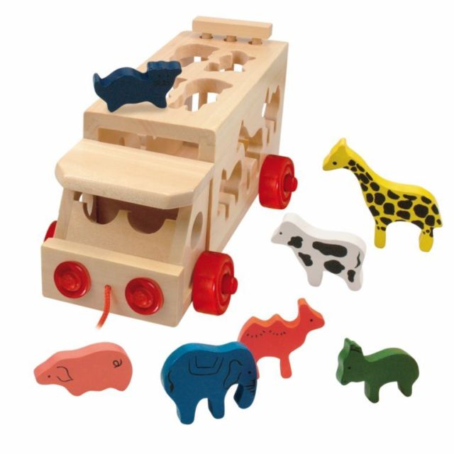 Fabnatoys Catalogue Blog Animal Truck Wooden Toy