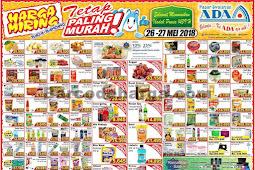 Katalog Promo ADA Pasar Swalayan Terbaru 26 - 27 Mei 2018
