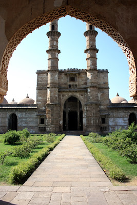 Champaner Gujarat, heritage sites of India, Jami Masjid