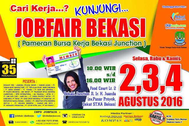 Job Fair Bekasi - Bursa kerja Bekasi Junction