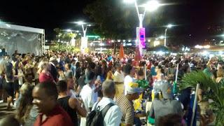 Comemoração do Aniversário de Salvador no Rio Vermelho