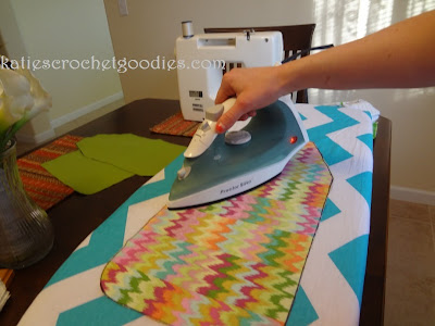 how to iron fabric