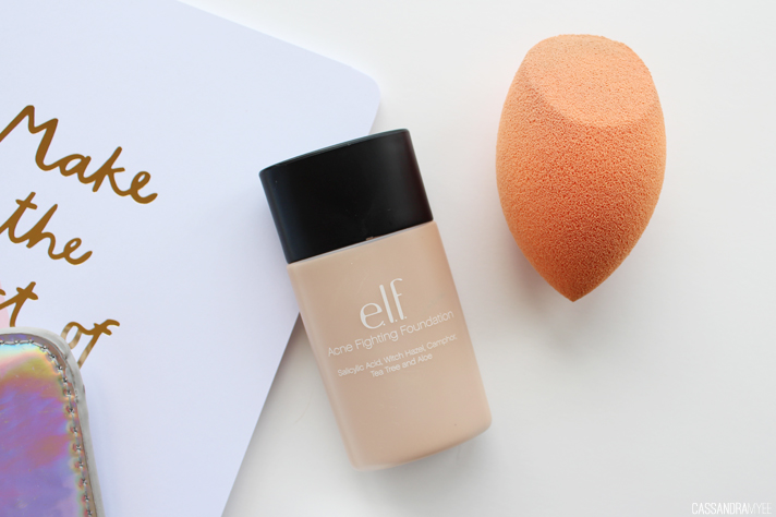 MOST LOVED // October '14 - e.l.f. Acne Fighting Foundation + Real Techniques Miracle Complexion Sponge - CassandraMyee