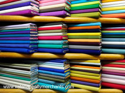 Upholstery fabric comes in a wide range of colours and mateials