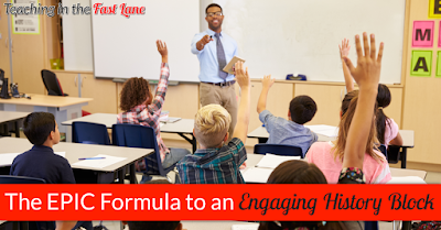 Are you struggling to get your students to connect with their history? Follow this EPIC formula to engage students and get them excited about history!