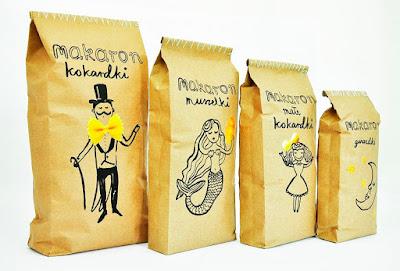 Pasta Packaging Design by Agata Kowalska