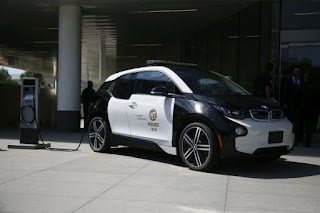 BMW i3 Los Angeles Police