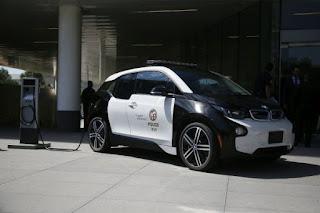BMW i3 Los Angeles Police