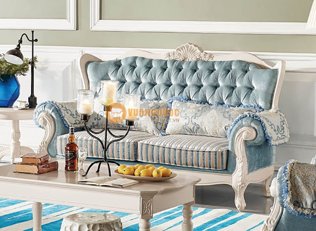 ghế sofa phòng khách cổ điển