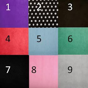 Minky Blanket Color Choices