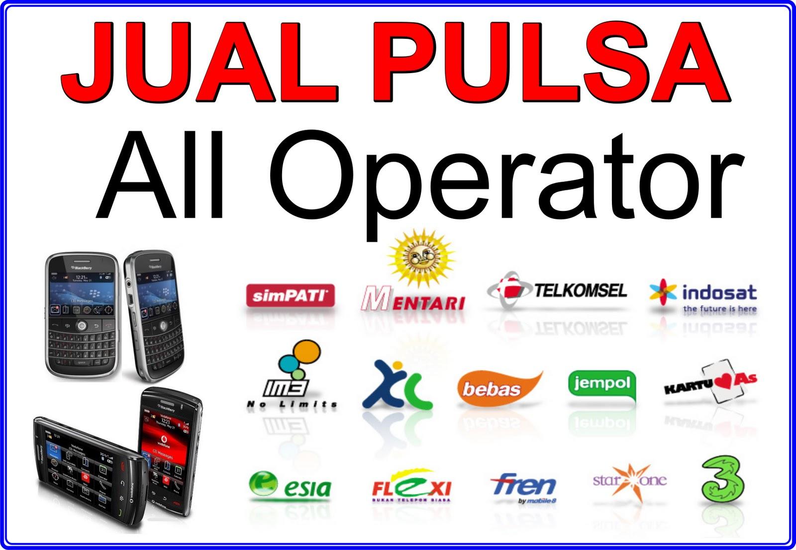 Jual PULSA ALL OPERATOR, VOUCHER GAME ONLINE, PPOB,PLN ...