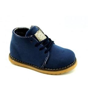 West Haven Side Zip Boots - Blue