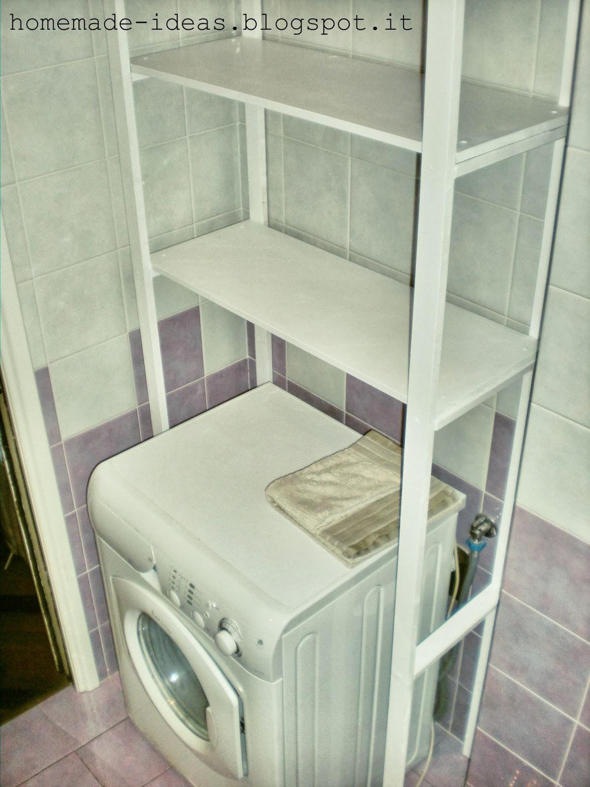 Mobile bagno per lavatrice with mobile bagno per for Mobile sopra lavatrice