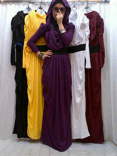 Hoodie Maxidress fit to L