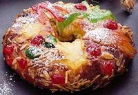 Resultado de imagem para fatia de bolo rei dia de reis