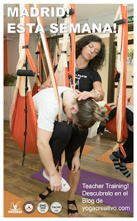 Aerial Yoga Teacher Training Madrid!