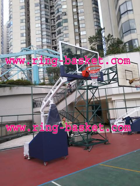 tiang basket portabel murah