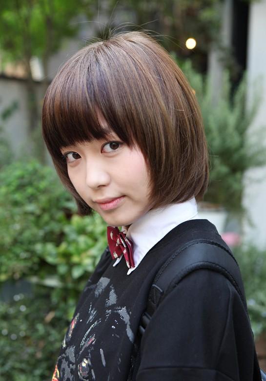 Women Fashion Trend Asian Bob Hairstyle For Girls