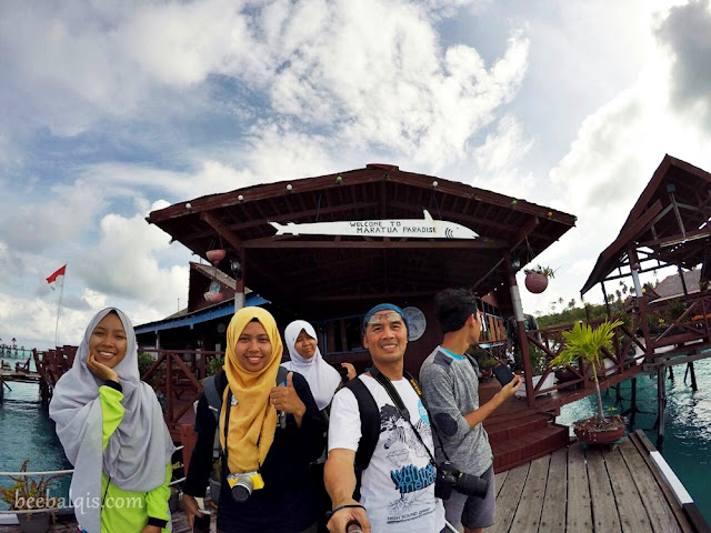 Indonesia Blogger travelling to Maratua Island