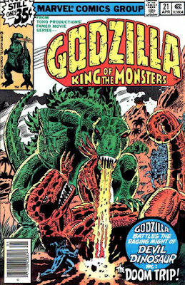 Godzilla #21, Devil Dinosaur