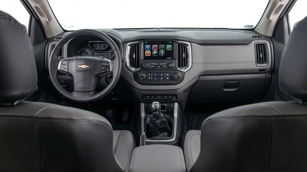 Interior Chevrolet S10