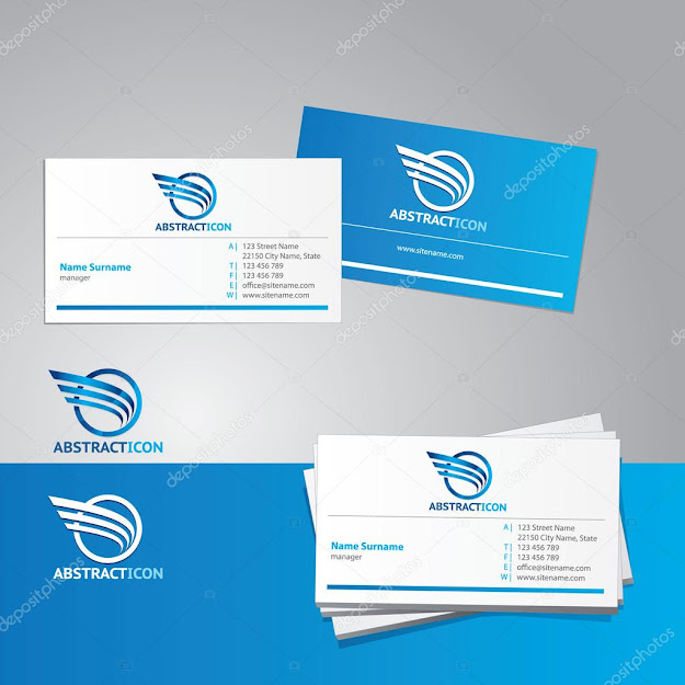 Business Card Vector Template  Vector By Tanjakrstevska