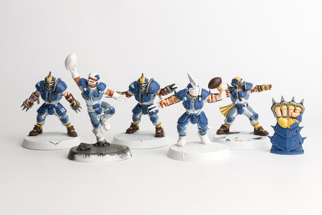 WIP: Blitz/Blood Bowl Human Team #2
