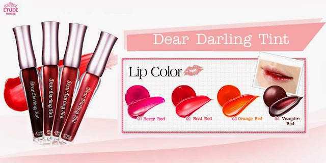 gradient lips, cara membuat gradient lips, lips korea, etude house, lips etude house, review, tips make up, chibis etude house korea, darling tint, lip tint etude, etude lips