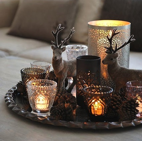 Christmas Decorations At Home: Christmas Home Decoration With Neutral Colors