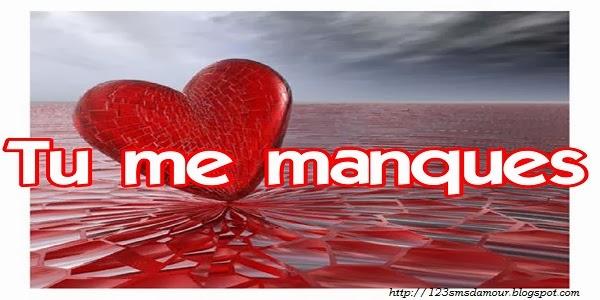 message d 39 amour pour dire tu me manque sms d 39 amour amourissima sms d 39 amour mots et. Black Bedroom Furniture Sets. Home Design Ideas