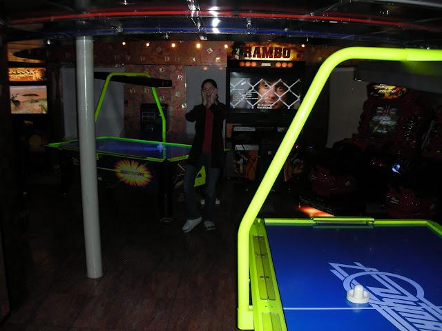 cruise ship arcade