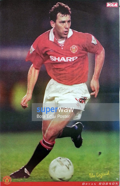Poster Bryan Robson (Manchester United)