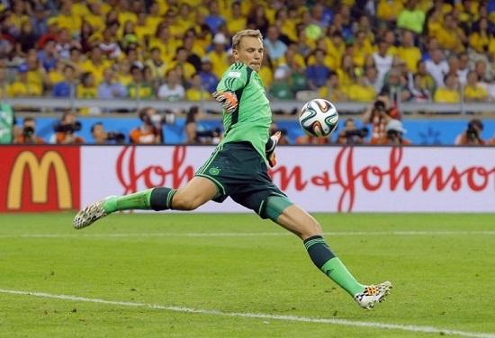 thủ môn Manuel Neuer